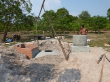Biogas digester production