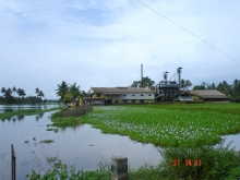 Vembanad-Kol backwaters, Kerala