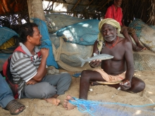 Fishermen interviews in Golabandha, Odisha