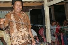 WideBachtiar head of the fishermen IPPM Makassar Hanying Li2010