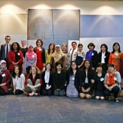 Participants at the Asia-Pacific gender/biodiversity workshop in Bangkok, 28-30 Nov 2017