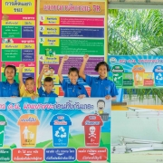 Students are empowered to manage waste through the '7 Rs'