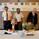 IUCN and SIDA sign agreements at the MFF Phase 3 launch