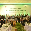 Group photo at the 13th Meeting of the MFF Regional Steering Committee in Cox's Bazar, Bangladesh