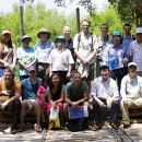 Representatives from FAO, IUCN, and countries Pakistan, Thailand, and Viet Nam attended the Inception Workshop field trip at Bang Kaew, Samut Songkram, Thailand.