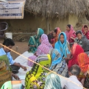 Women participate in the alternative/supplementary livelihood training