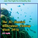 Annual cleaning week in Saint Martin's Island