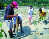 RCEAT hosted mangrove planting in the community