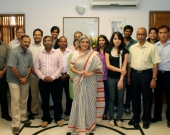 MFF India Small Grants partners with Dr Bhatt (Member Secretary, NCB India) and IUCN partners